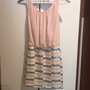 Semi formal pink dress